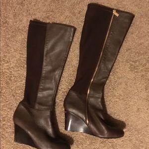 Michael Kors Tall Wedge Boots